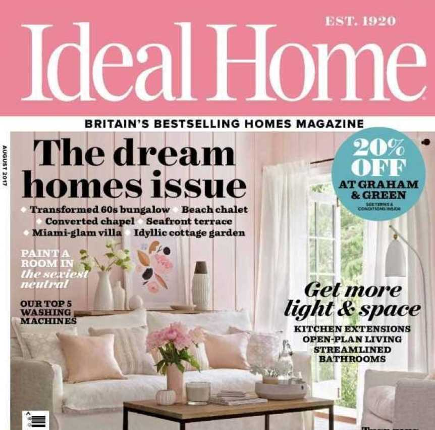 Ideal Home Magazine front cover